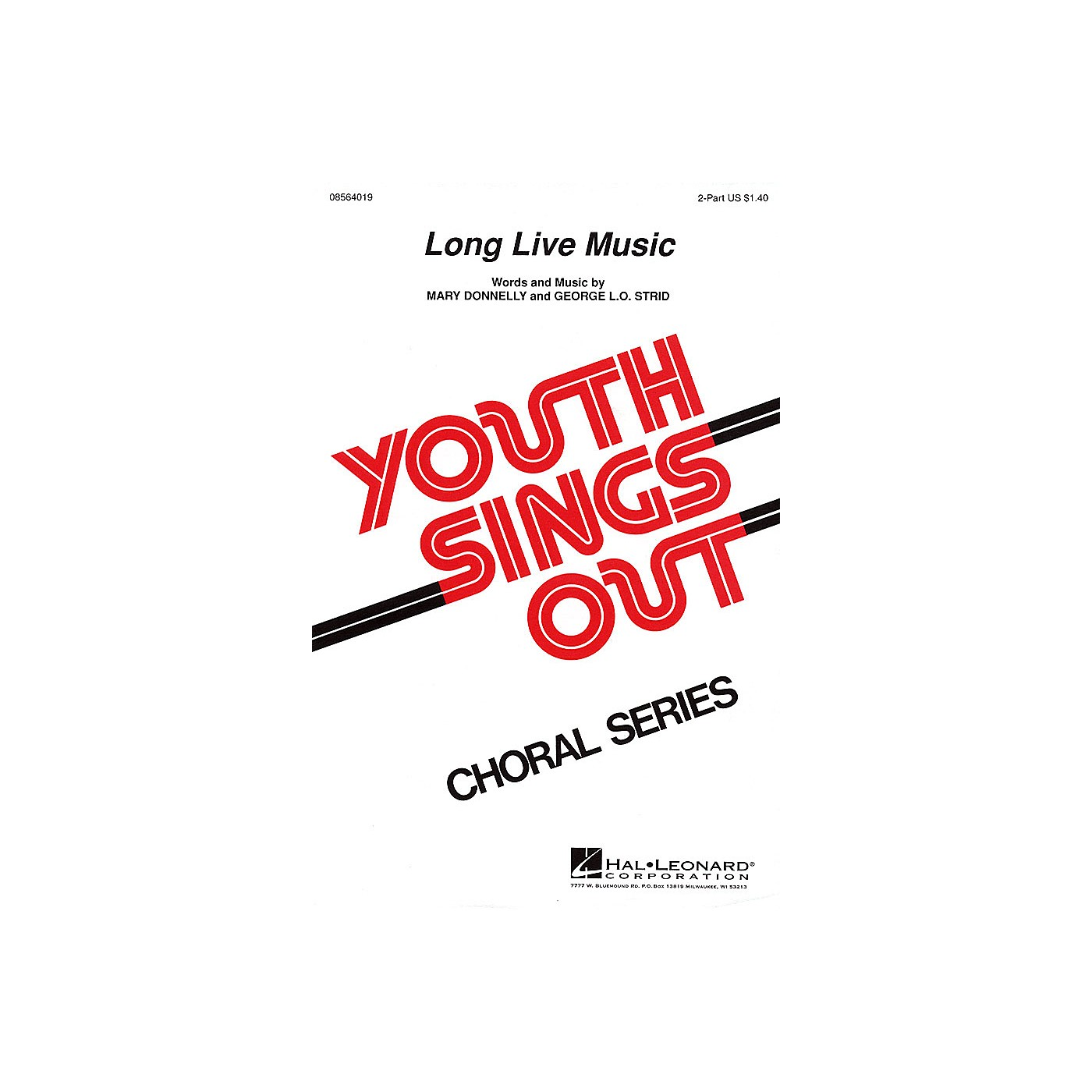 Hal Leonard Long Live Music 2-Part composed by Mary Donnelly thumbnail