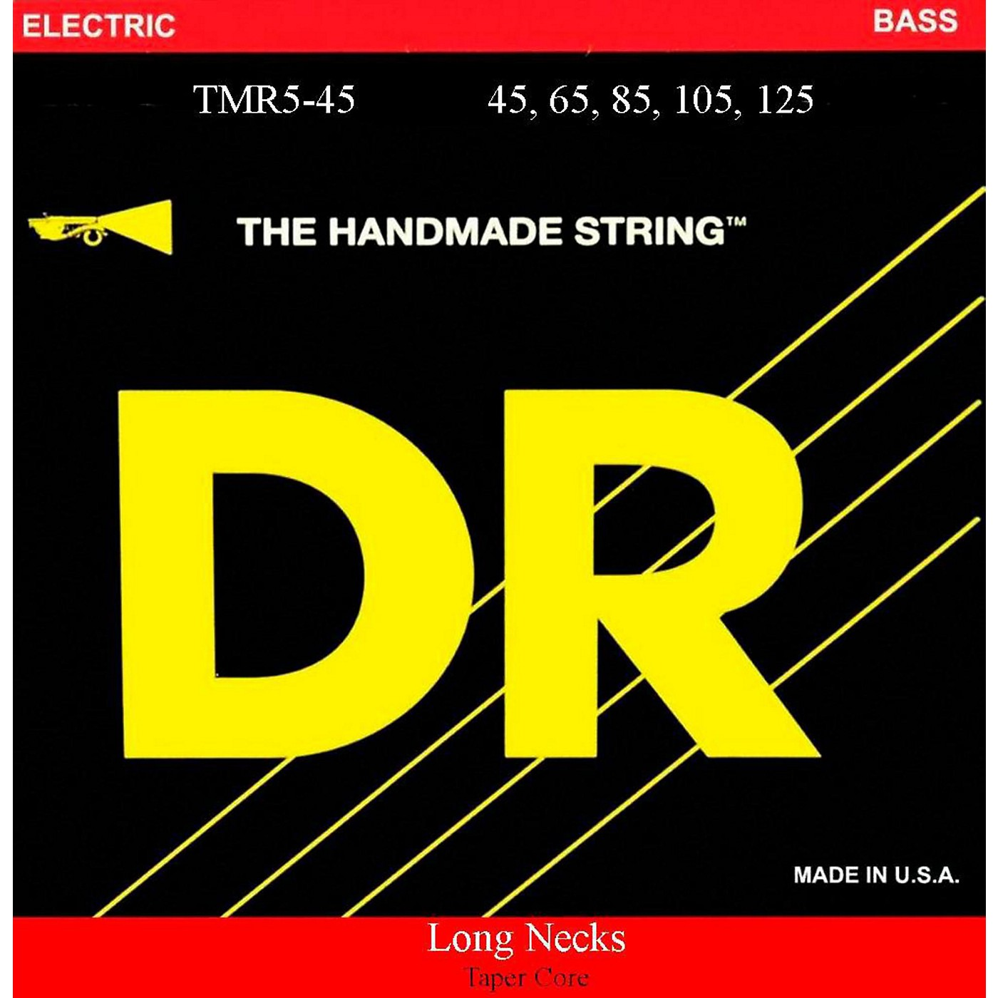 DR Strings Long Necks Taper Core Medium 5-String Bass Strings thumbnail