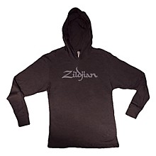 Zildjian Long Sleeve Hooded Shirt, Black