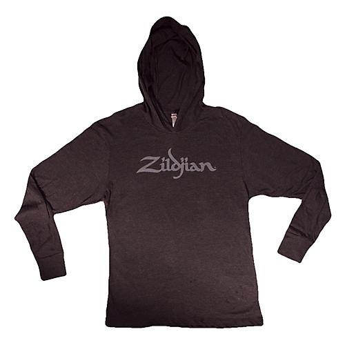 Zildjian Long Sleeve Hooded Shirt, Black thumbnail