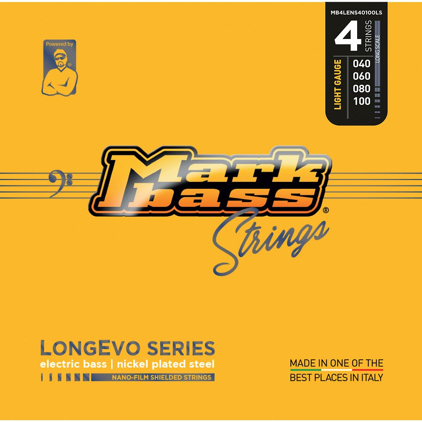 Markbass Longevo Series Nano Film Shielded Electric Bass Strings thumbnail