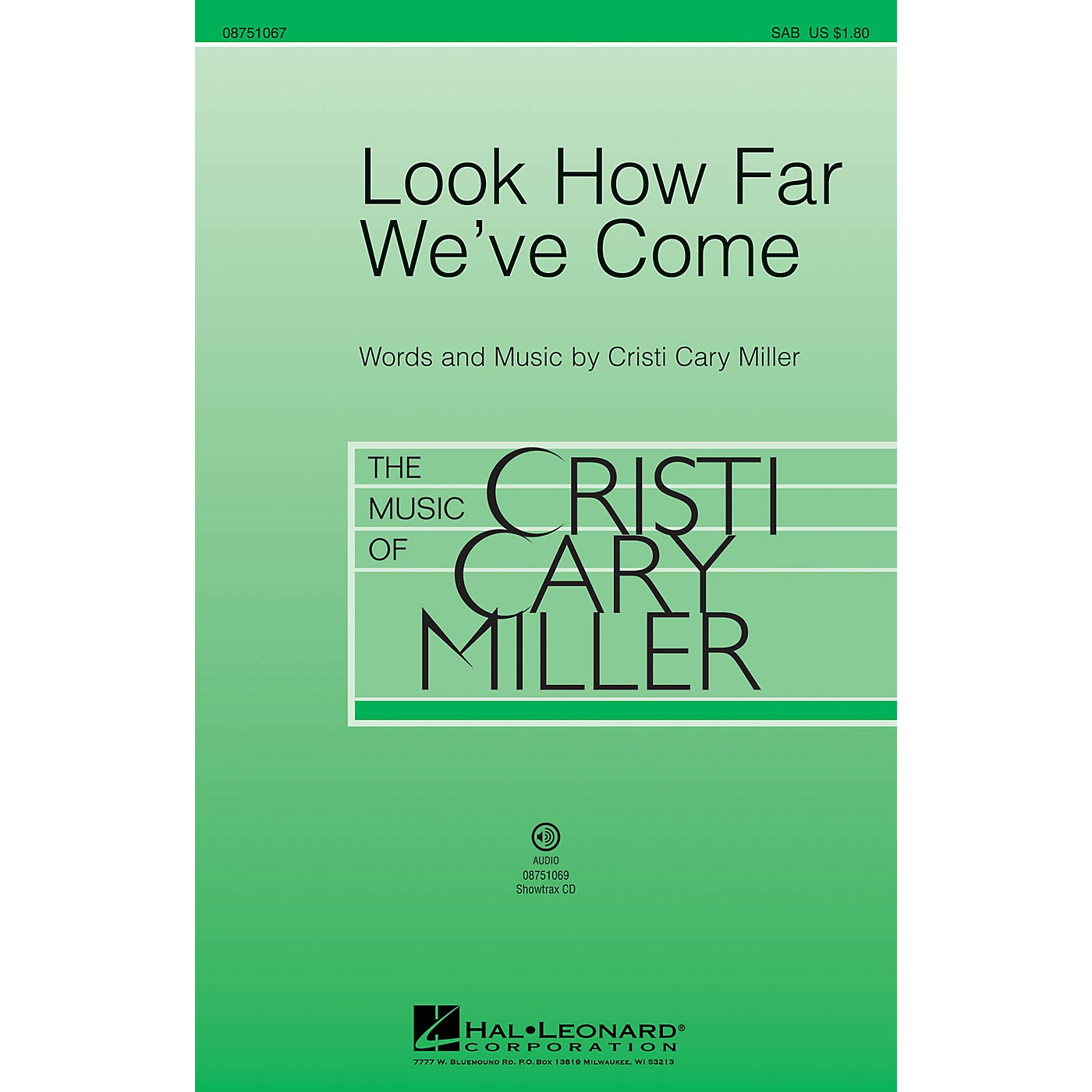Hal Leonard Look How Far We've Come 2-Part Composed by Cristi Cary Miller thumbnail