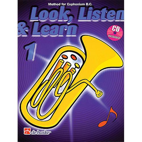 Hal Leonard Look, Listen & Learn - Method Book Part 1 (Euphonium (B.C.)) De Haske Play-Along Book Series thumbnail