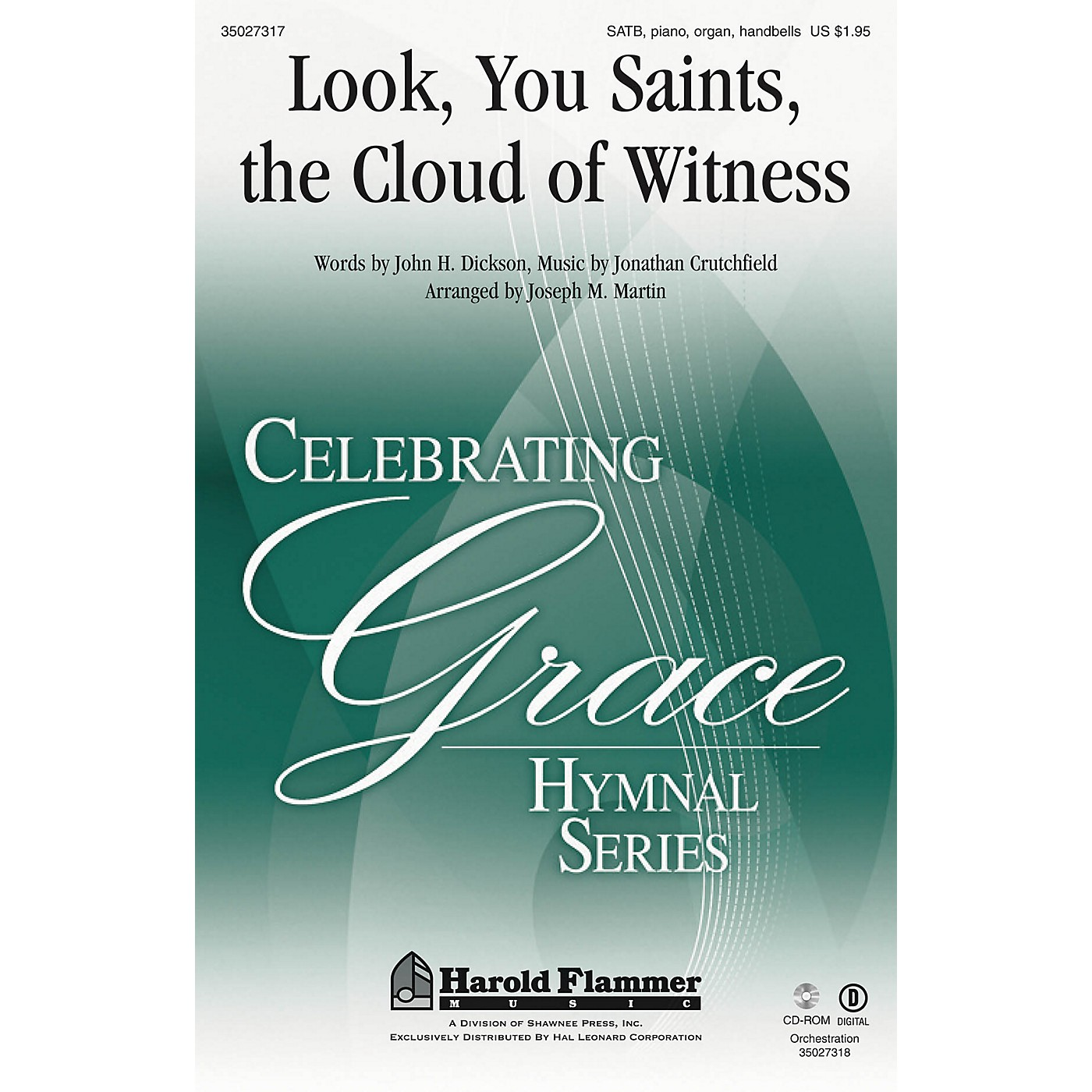 Shawnee Press Look, You Saints, the Cloud of Witness SATB arranged by Joseph M. Martin thumbnail