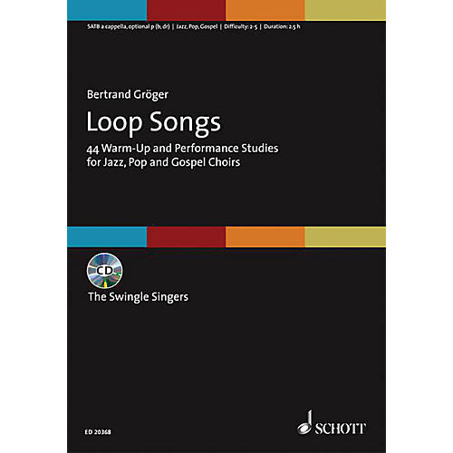 Schott Music Loop Songs (44 Warm-Up and Performance Studies for Jazz, Pop, and Gospel Choirs Choral Score/CD) thumbnail