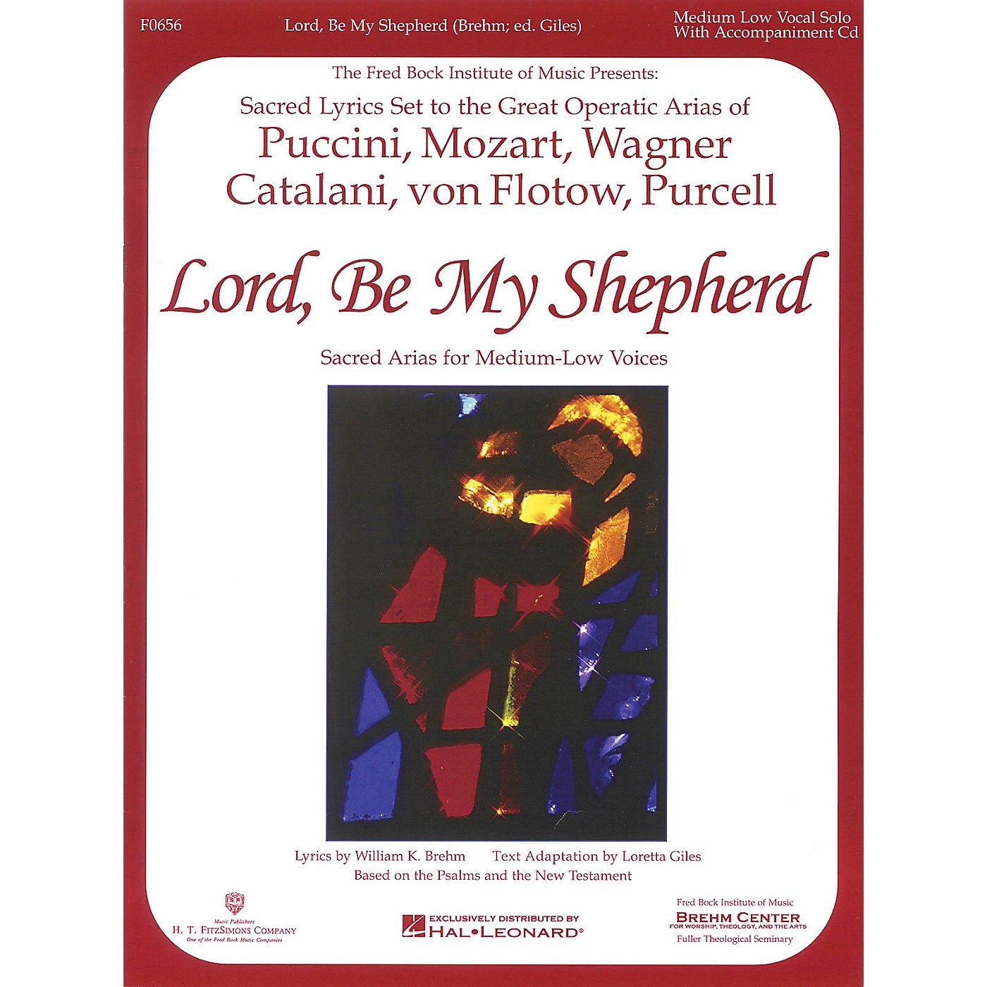 H.T. FitzSimons Company Lord, Be My Shepherd (Low Voice) Low Voice arranged by William Brehm thumbnail