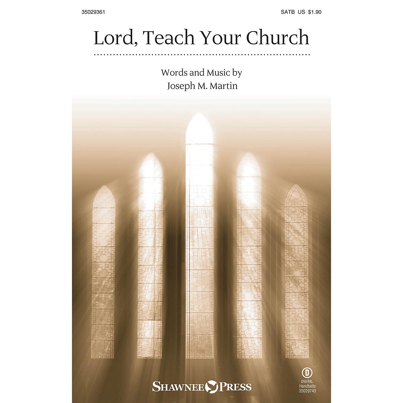 Shawnee Press Lord, Teach Your Church SATB composed by Joseph M. Martin thumbnail