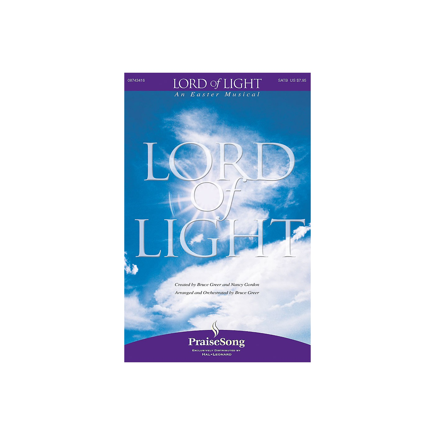 PraiseSong Lord of Light CD 10-PAK Composed by Bruce Greer thumbnail