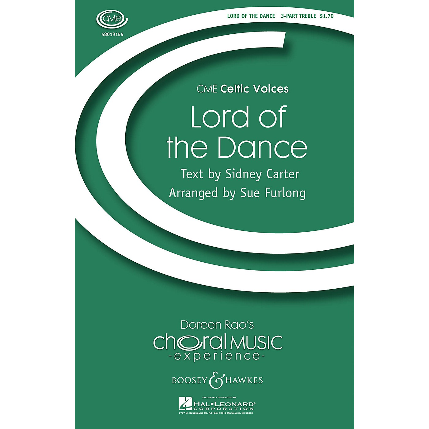 Boosey and Hawkes Lord of the Dance (CME Celtic Voices) 3 Part Treble arranged by Sue Furlong thumbnail