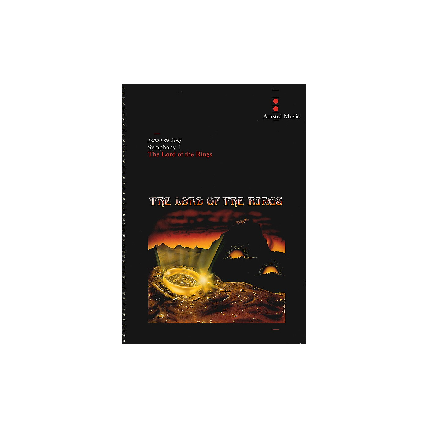 Amstel Music Lord of the Rings, The (Symphony No. 1) - Complete Edition Concert Band Level 5-6 by Johan de Meij thumbnail