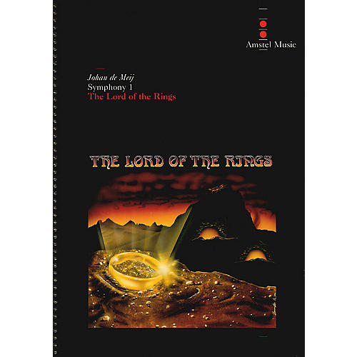 Amstel Music Lord of the Rings, The(Symphony No. 1) - Complete Edition Concert Band Level 5-6 by Johan de Meij thumbnail