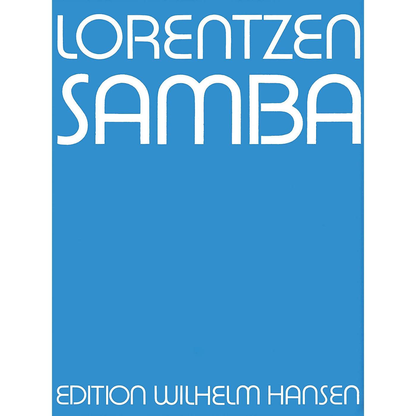 Music Sales Lorentzen Samba Clt/Tbn/Vlc/Pf Player's Score Music Sales America Series thumbnail