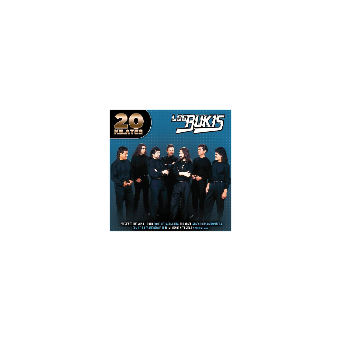 Alliance Los Bukis - 20 Kilates (CD) thumbnail