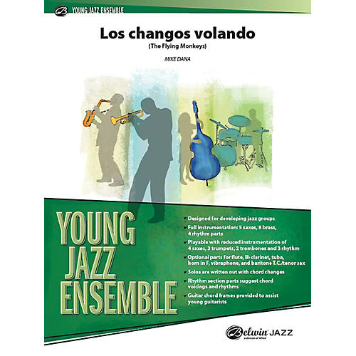 Alfred Los Changos Volando Jazz Band Grade 2 Set thumbnail