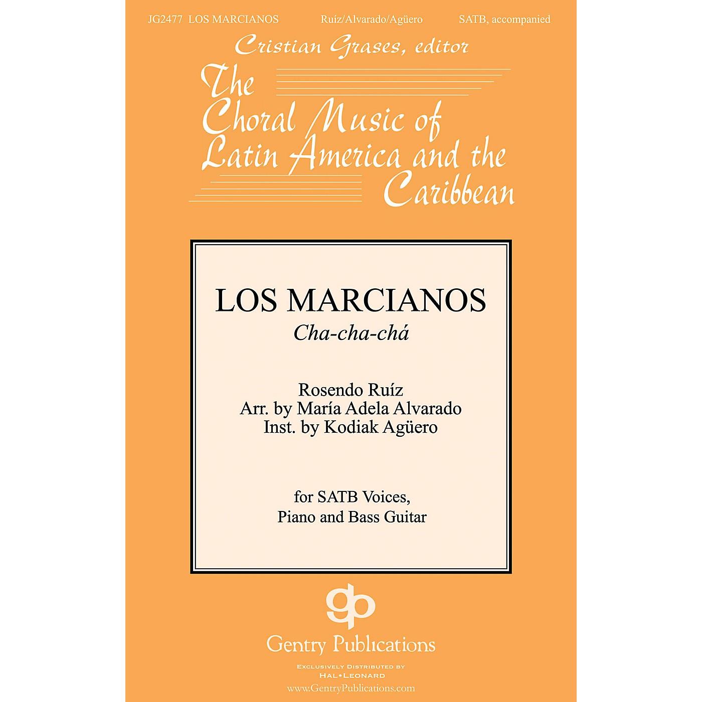 Gentry Publications Los Marcianos SATB arranged by Maria Adela Alvarado thumbnail