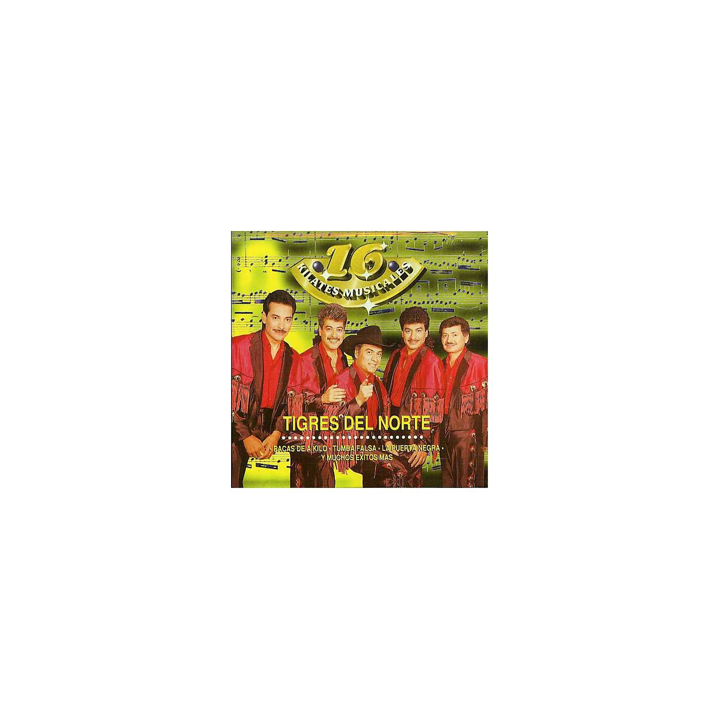 Alliance Los Tigres del Norte - 16 Kilates Musicales (CD) thumbnail