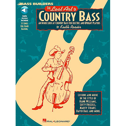 Hal Leonard Lost Art Of Country Bass Instruction (Book/CD) thumbnail