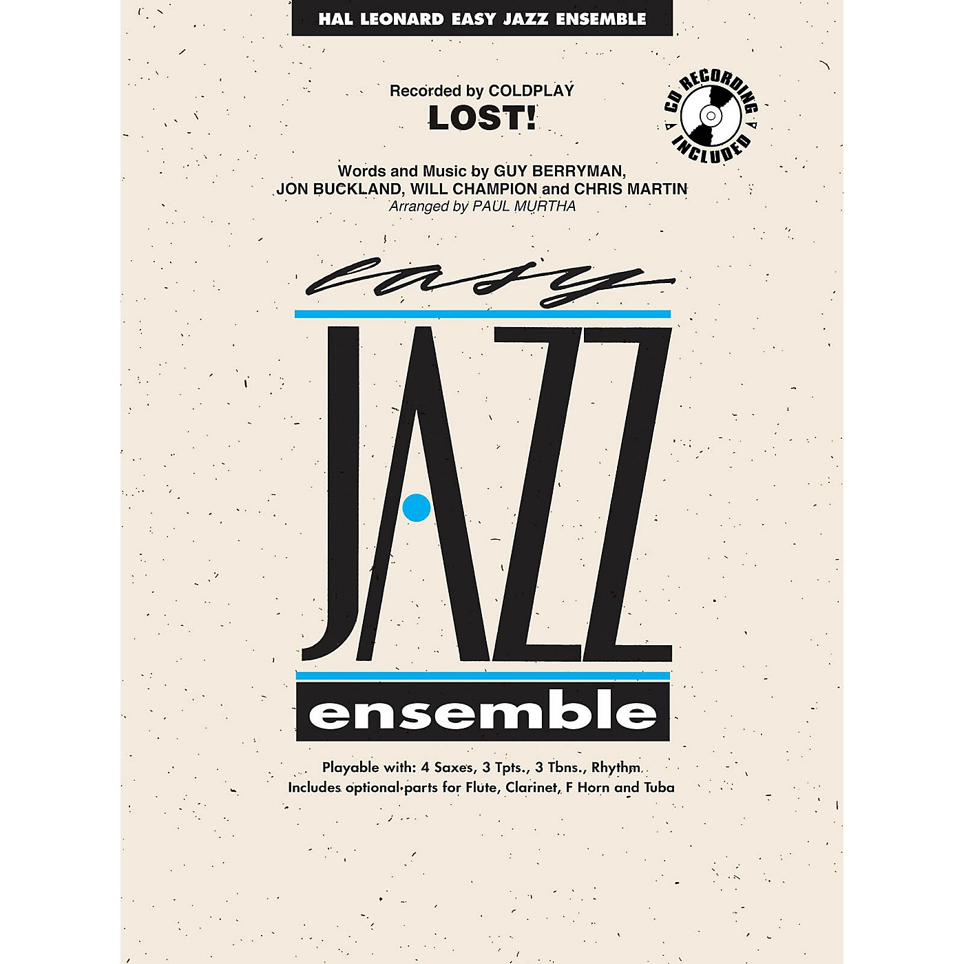 Hal Leonard Lost! Jazz Band Level 2 Arranged by Paul Murtha thumbnail