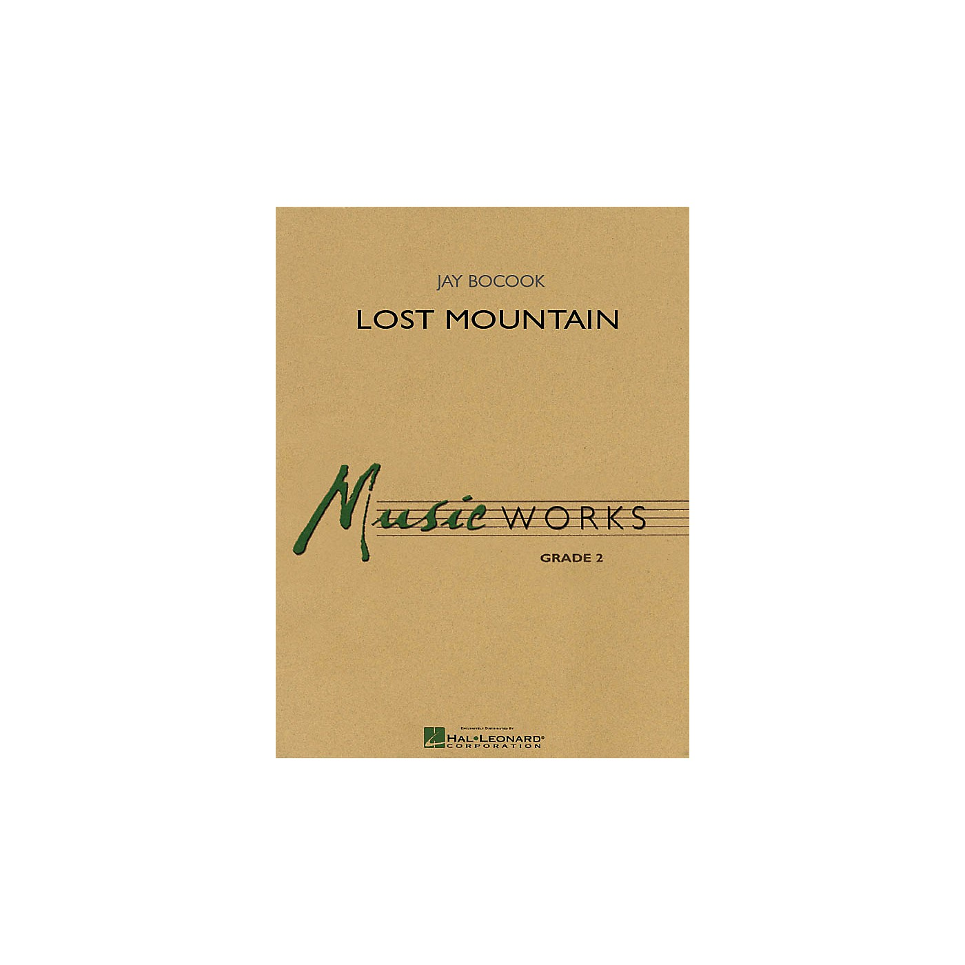 Hal Leonard Lost Mountain Concert Band Level 2 Composed by Jay Bocook thumbnail