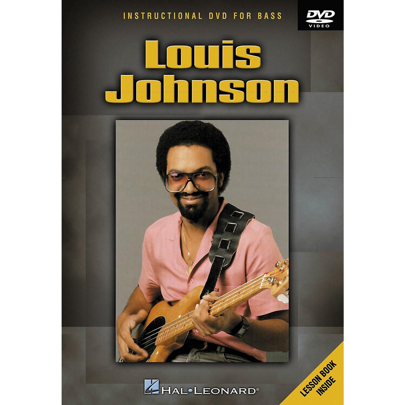 Hal Leonard Louis Johnson (DVD) thumbnail