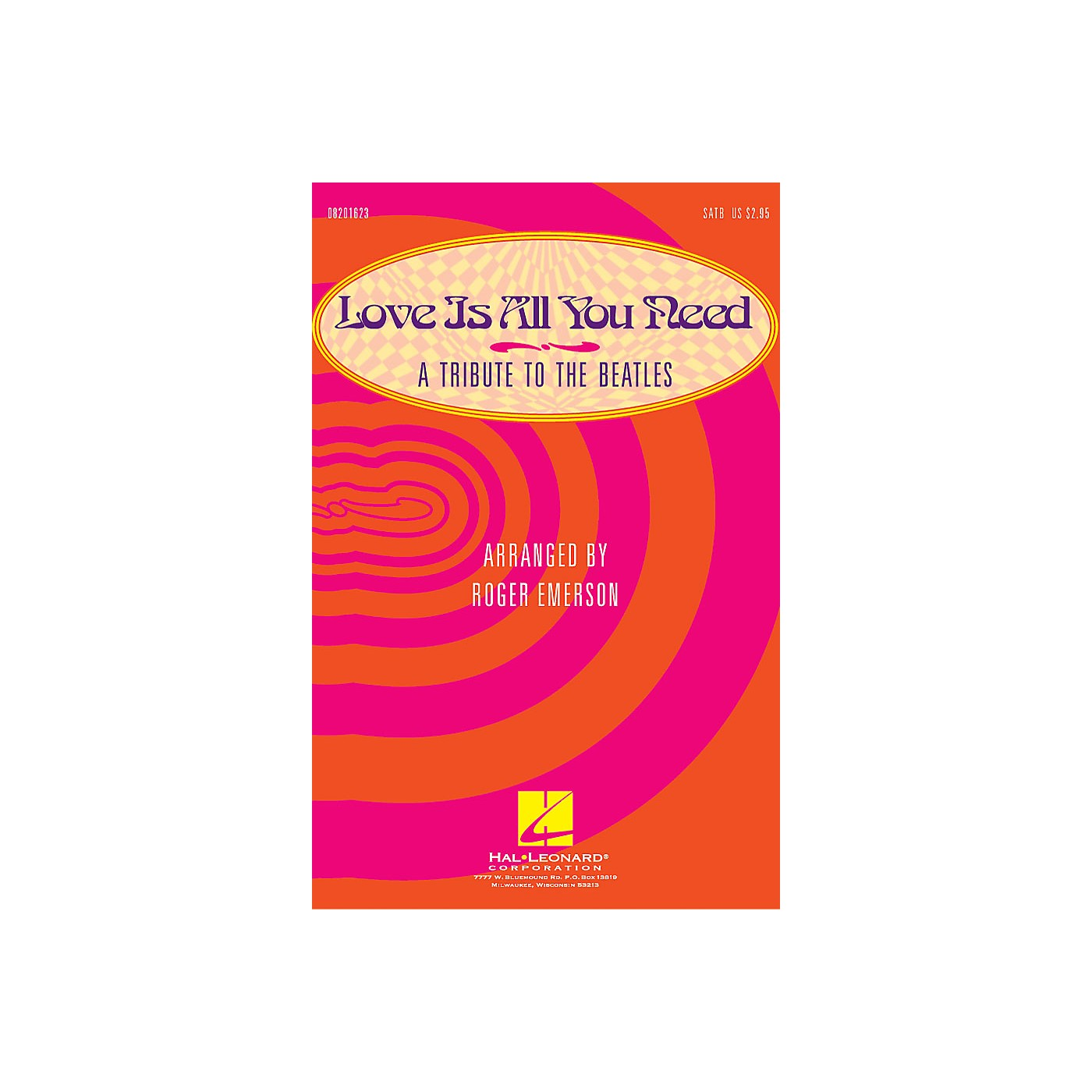 Hal Leonard Love Is All You Need (Medley) (A Tribute to the Beatles) (A Tribute to the Beatles) SAB by Roger Emerson thumbnail