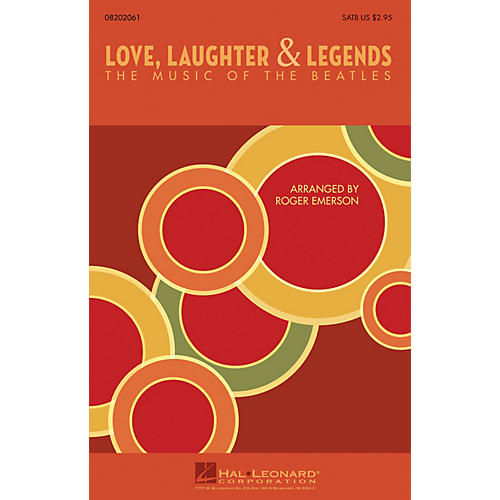 Hal Leonard Love, Laughter & Legends (The Music of the Beatles) ShowTrax CD by The Beatles Arranged by Roger Emerson thumbnail