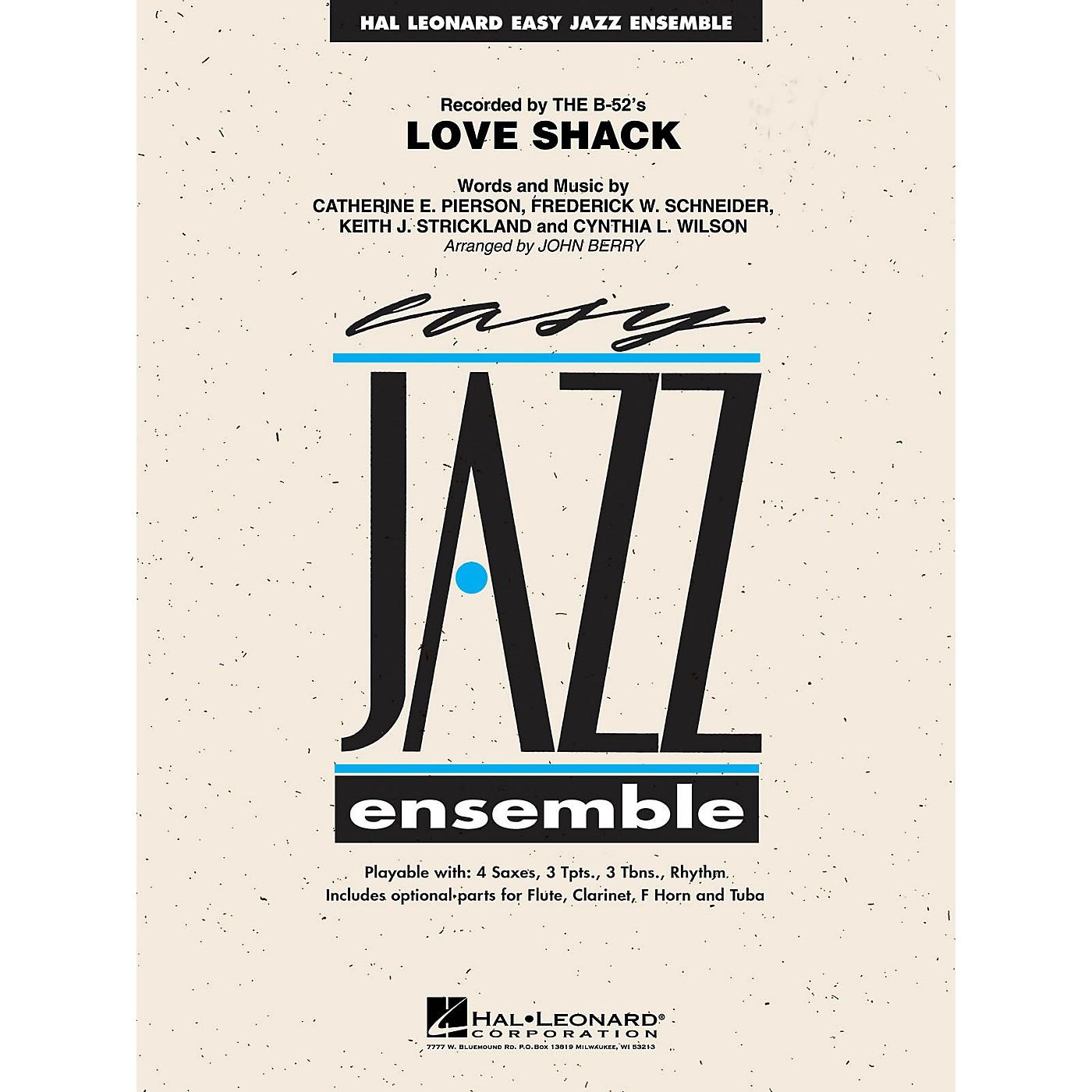 Hal Leonard Love Shack Jazz Band Level 2 by The B-52's Arranged by John Berry thumbnail