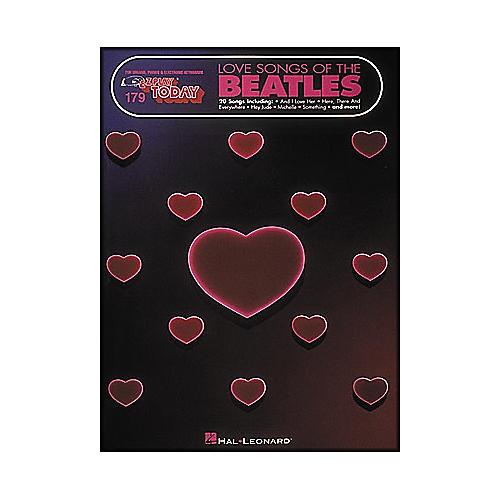 Hal Leonard Love Songs Of The Beatles E-Z Play 179 thumbnail