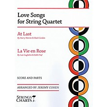 String Letter Publishing Love Songs for String Quartet String Letter Publishing Series Softcover Arranged by Jeremy Cohen