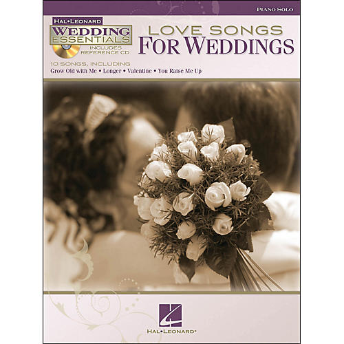 Hal Leonard Love Songs for Weddings - Wedding Essentials Series Book/CD arranged for piano solo thumbnail
