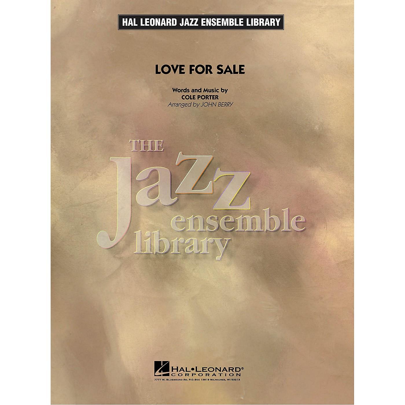 Hal Leonard Love for Sale Jazz Band Level 4 Arranged by John Berry thumbnail