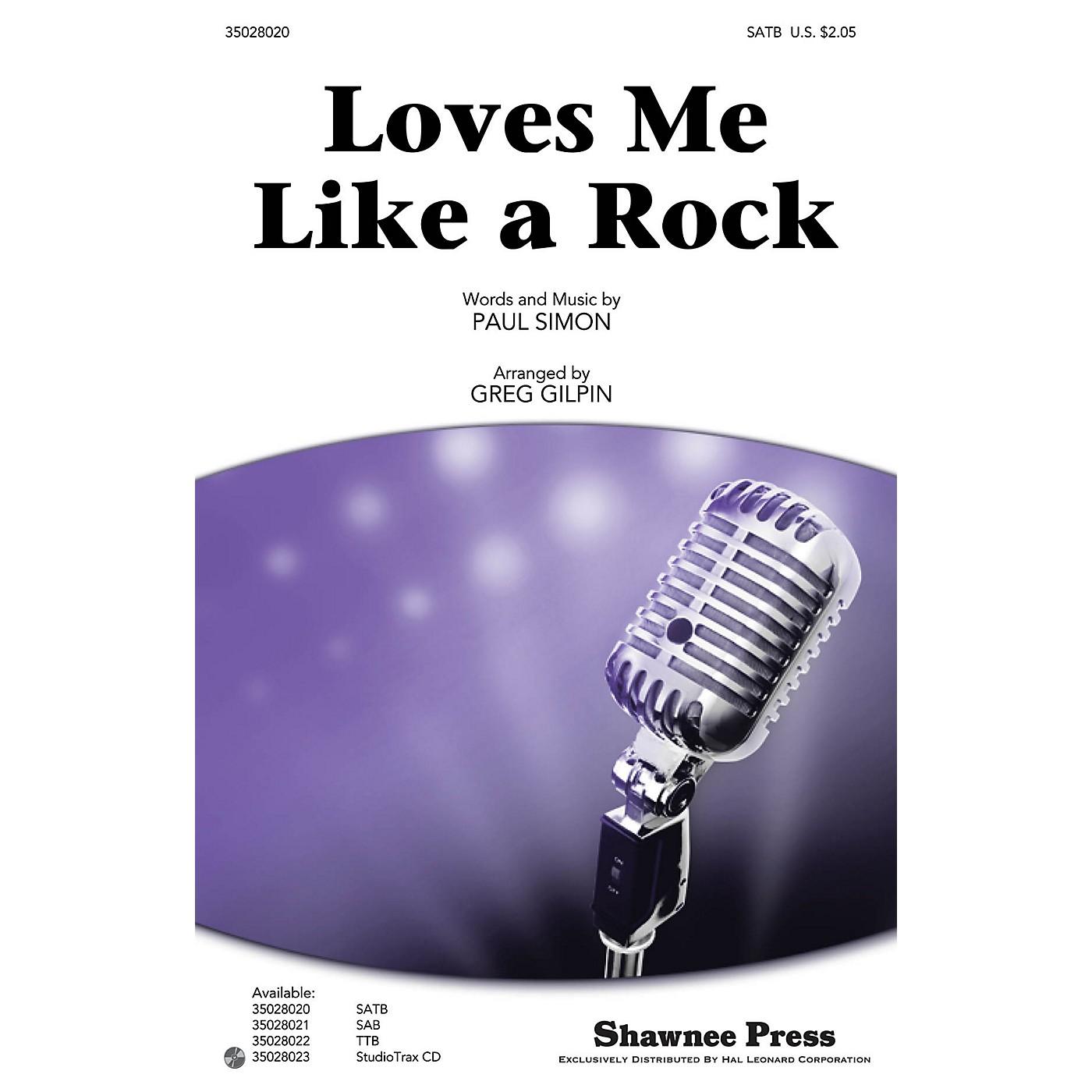 Shawnee Press Loves Me Like a Rock SATB by Paul Simon arranged by Greg Gilpin thumbnail