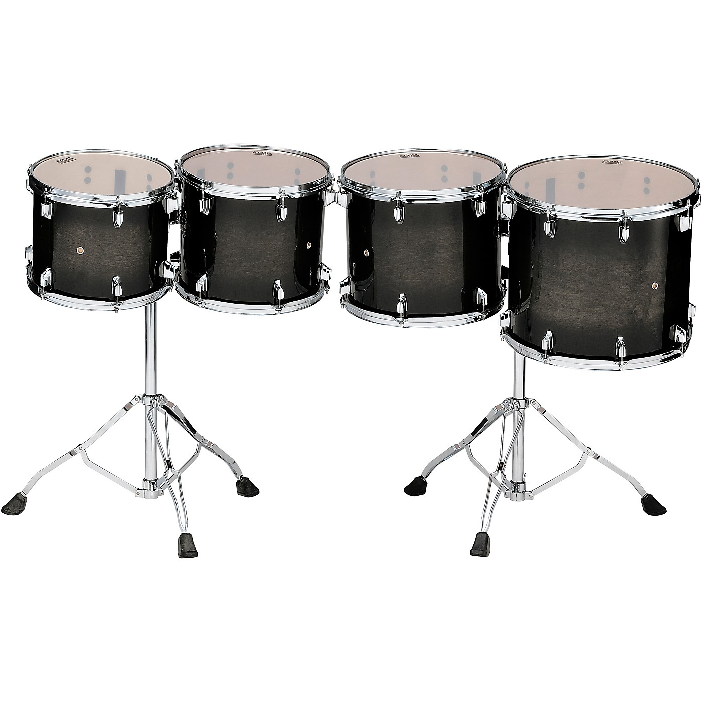 TAMA Low-Pitched Concert Tom Set With Stands (Double-Headed) thumbnail