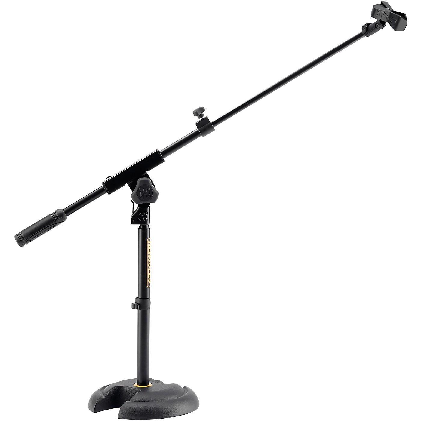 Hercules Low-Profile, Short Microphone Boom Stand thumbnail