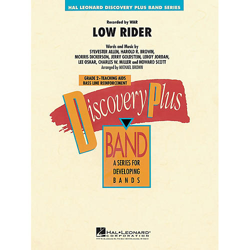 Hal Leonard Low Rider - Discovery Plus Concert Band Series Level 2 arranged by Michael Brown thumbnail