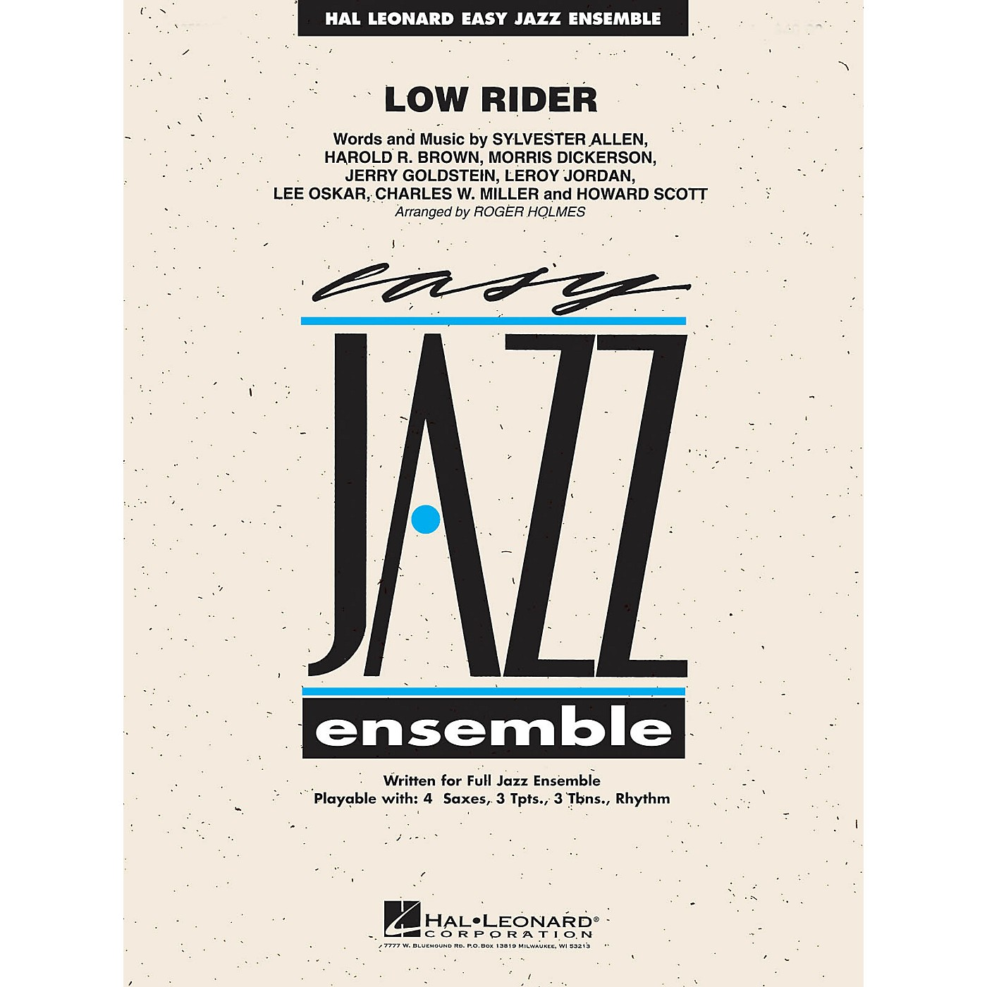 Hal Leonard Low Rider Jazz Band Level 2 Arranged by Roger Holmes thumbnail