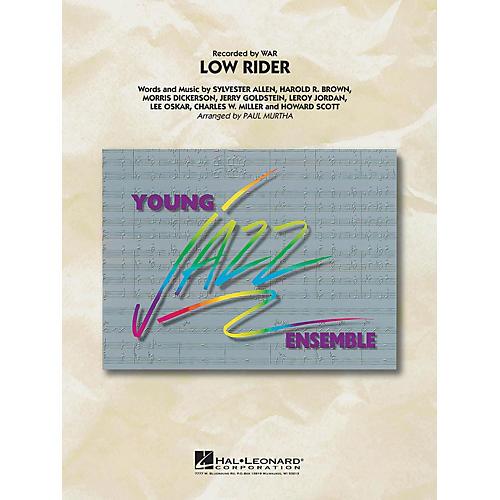 Hal Leonard Low Rider Jazz Band Level 3 by War Arranged by Paul Murtha thumbnail