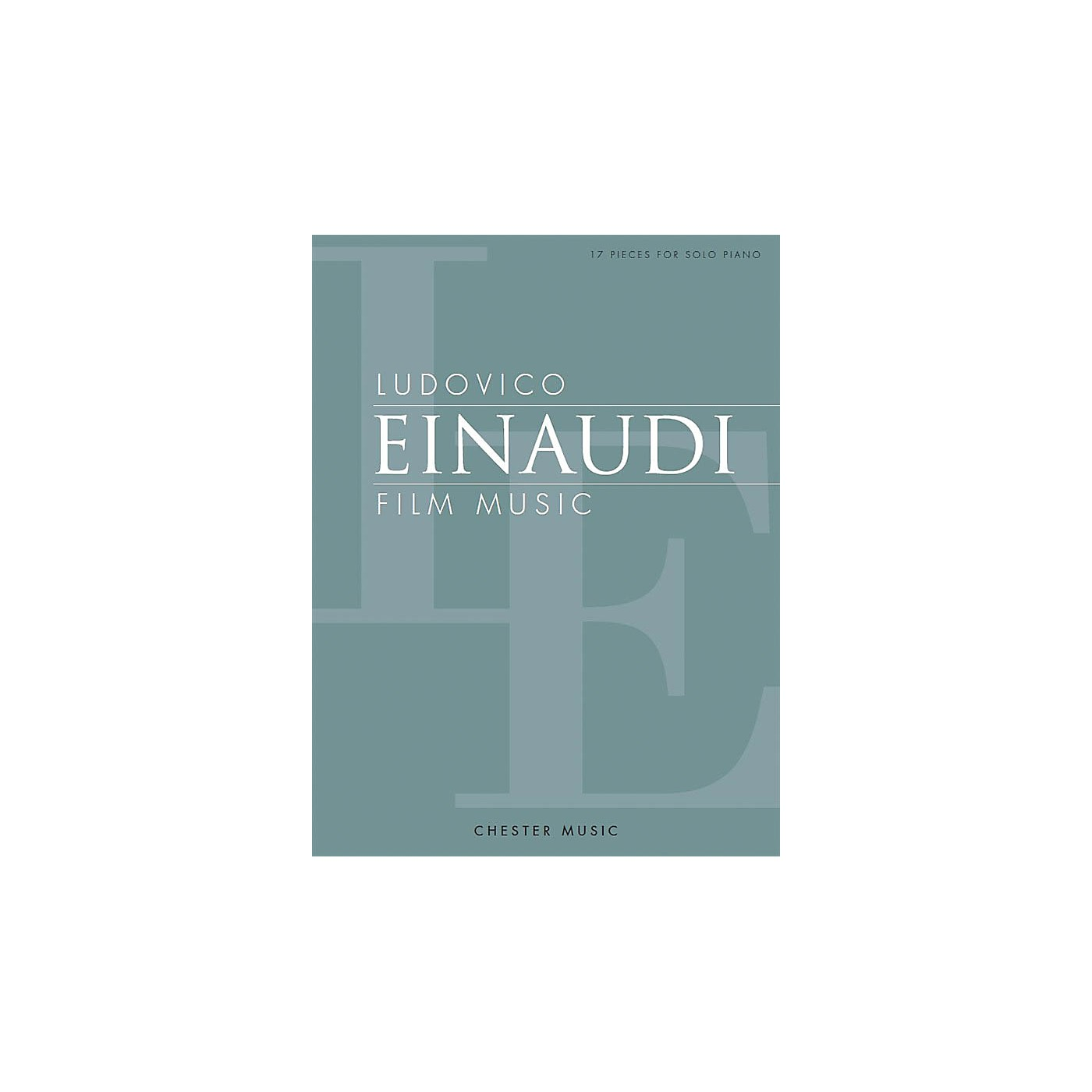Chester Music Ludovico Einaudi - Film Music Music Sales America Series Softcover Composed by Ludovico Einaudi thumbnail