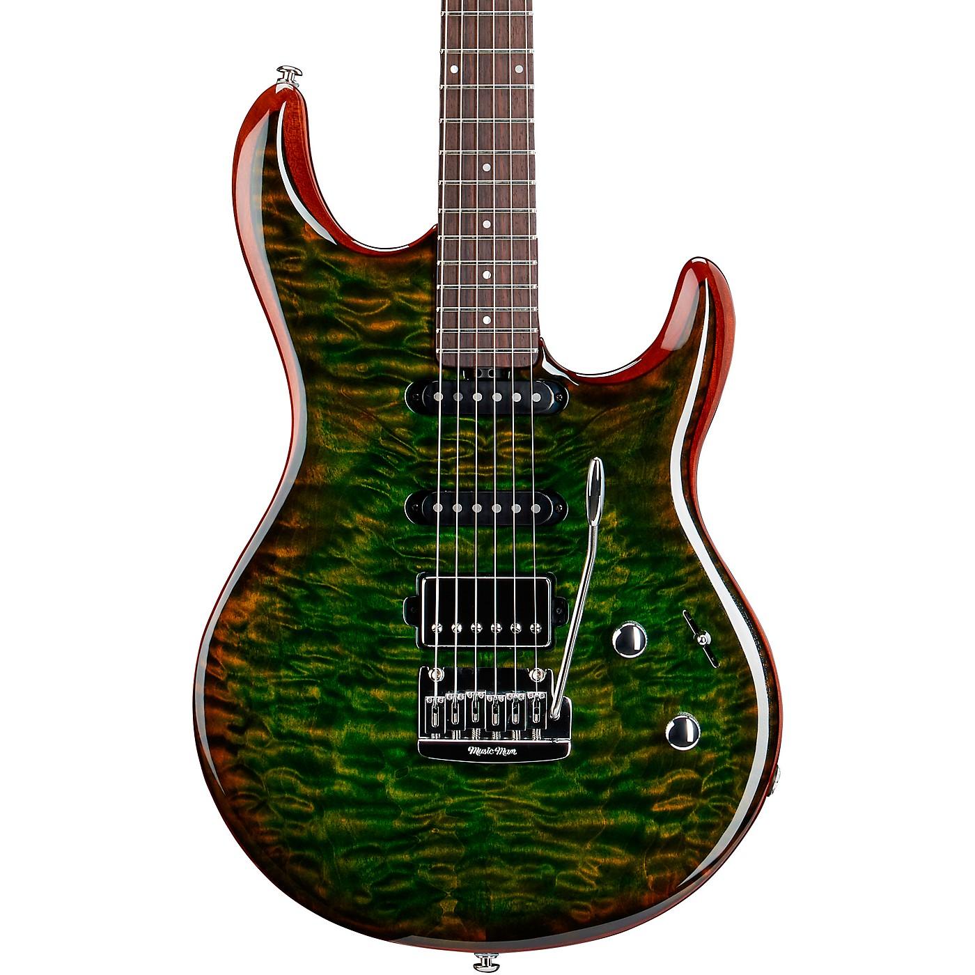 Ernie Ball Music Man Luke 3 HSS Quilt Maple Top Rosewood Fingerboard Electric Guitar thumbnail