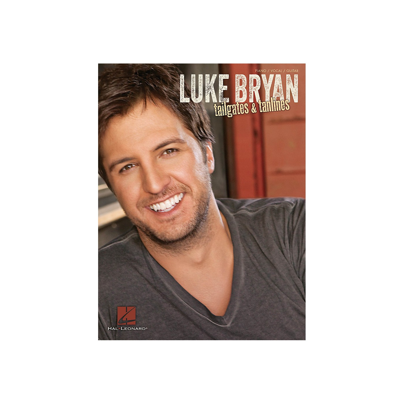 Hal Leonard Luke Bryan - Tailgates & Tanlines for Piano/Vocal/Guitar thumbnail
