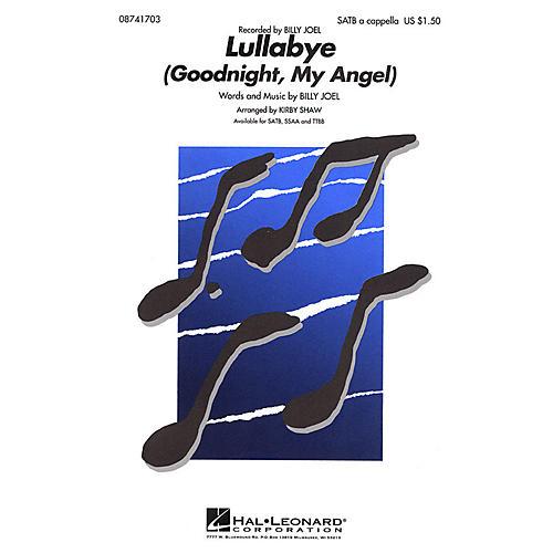 Hal Leonard Lullabye (Goodnight, My Angel) TTBB A Cappella by Billy Joel Arranged by Kirby Shaw thumbnail