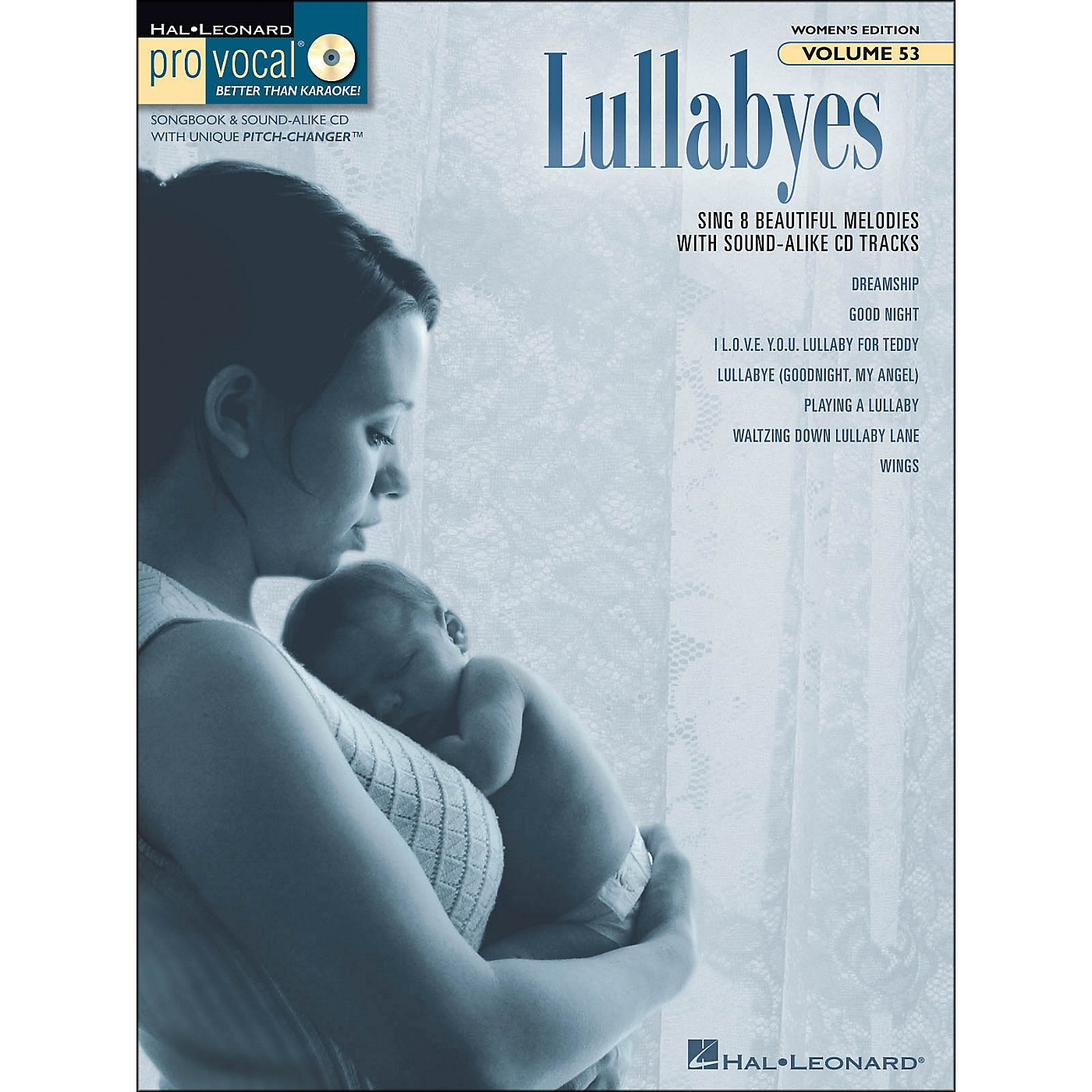 Hal Leonard Lullabyes - Pro Vocal Songbook & CD For Female Singers Volume 53 thumbnail