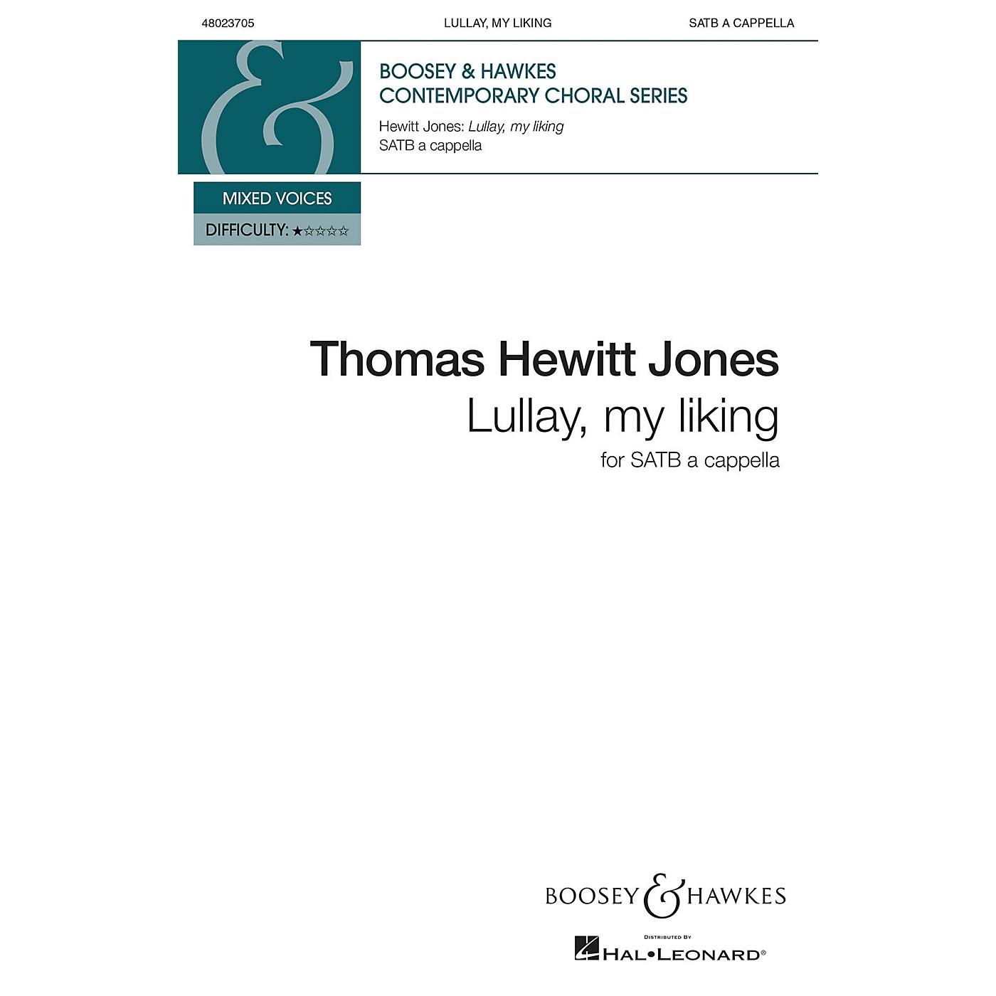 Boosey and Hawkes Lullay, My Liking (SATB a cappella) SATB a cappella composed by Thomas Hewitt Jones thumbnail