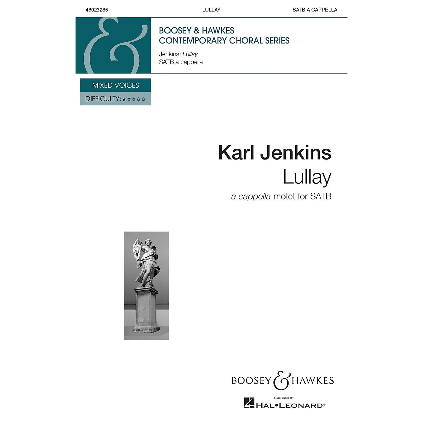 Boosey and Hawkes Lullay from Stella Natalis SATB a cappella composed by Karl Jenkins thumbnail