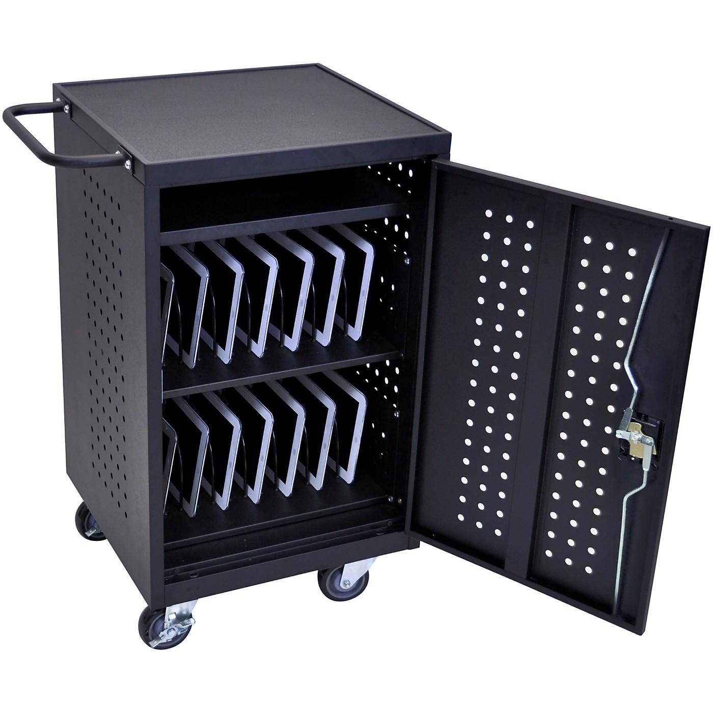 H. Wilson Luxor LLTM30-B 30 Tablet Charging Cart thumbnail