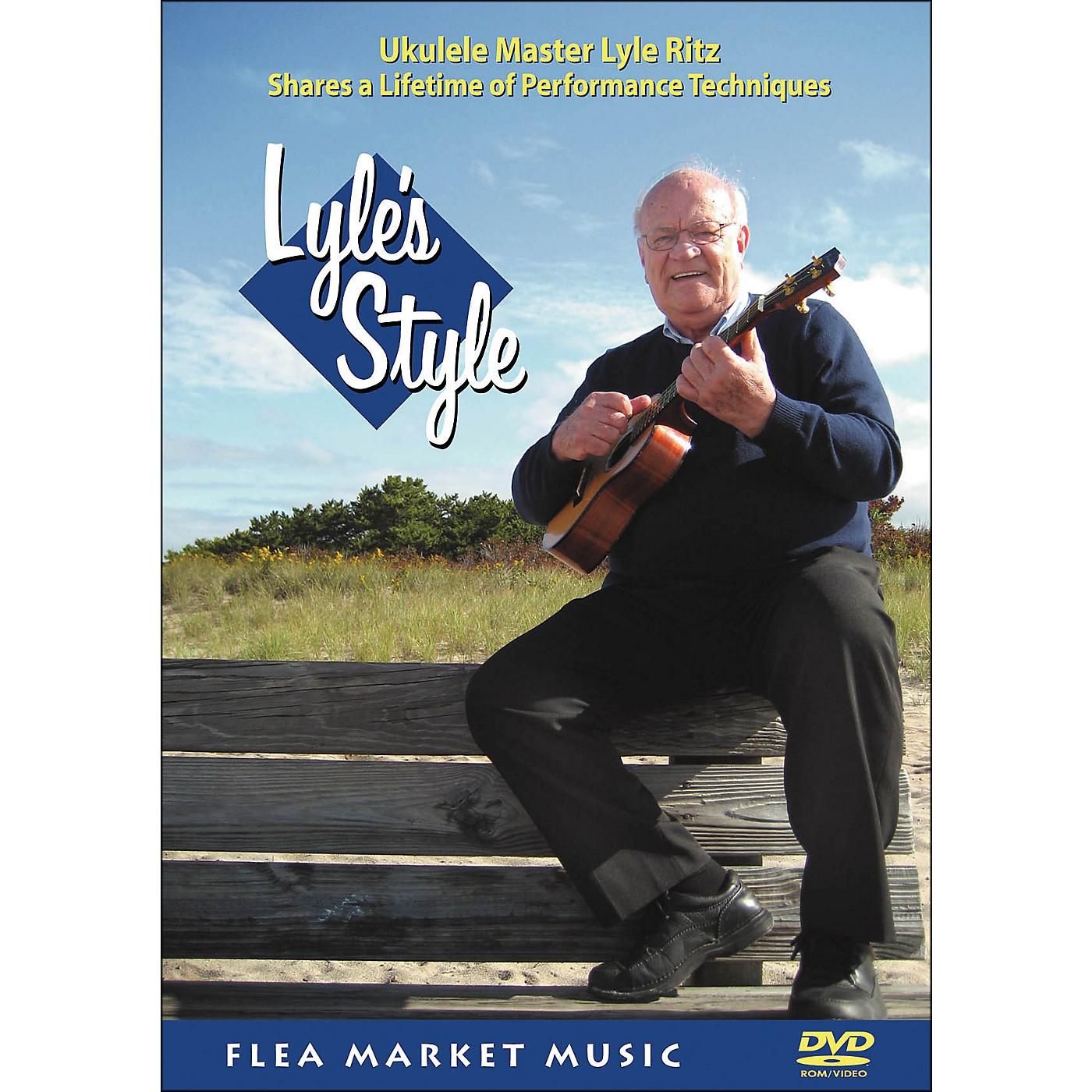 Hal Leonard Lyle's Style: Ukulele Master Lyle Ritz Shares A Lifetime Of Performance Technique (DVD) thumbnail