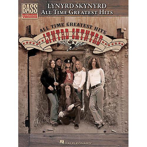 Hal Leonard Lynyrd Skynyrd - All Time Greatest Hits Bass Guitar Tab Songbook thumbnail