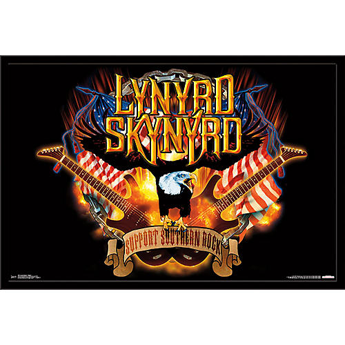 Trends International Lynyrd Skynyrd - Support Poster thumbnail