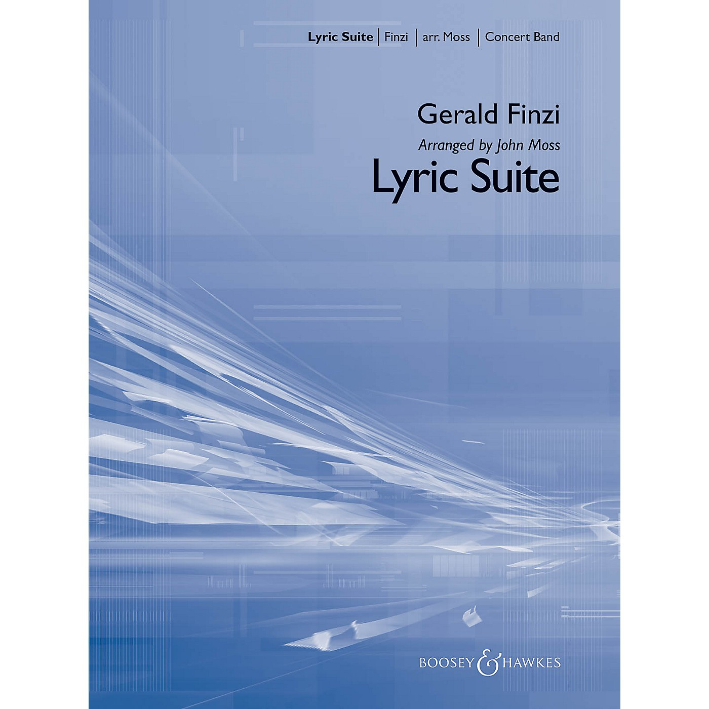 Boosey and Hawkes Lyric Suite Concert Band Level 3 Composed by Gerald Finzi Arranged by John Moss thumbnail