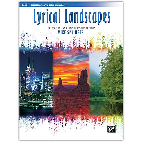 Alfred Lyrical Landscapes, Book 2 Early Intermediate / Intermediate thumbnail